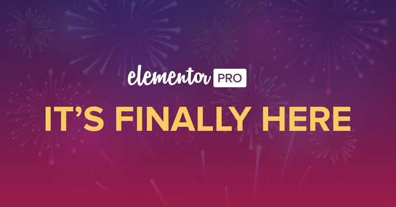 Elementor Pro - Brings New Designs Experiences to Your WordPress